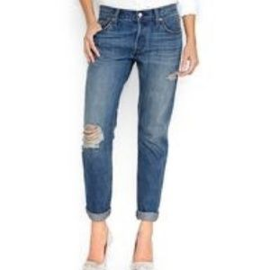 Levi's | 501 CT Distressed Boyfriend Button Fly